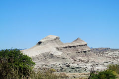 Berg in Valle DE La Luna Ischigualasto stock foto's