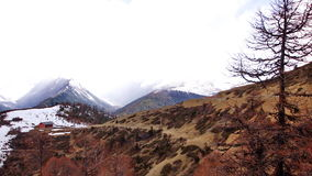 Berg 1 van de prinssneeuw stock afbeeldingen