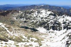 Berg van Gredos in Avila in Castilla Royalty-vrije Stock Foto's