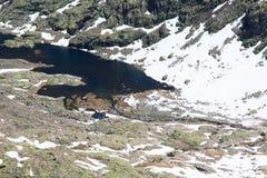 Berg van Gredos in Avila in Castilla Royalty-vrije Stock Fotografie