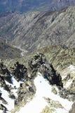 Berg van Gredos in Avila in Castilla Stock Foto