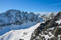 Berg van Sneeuw Stock Foto's