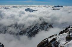 Berg van Sneeuw Royalty-vrije Stock Foto's