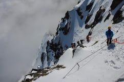 Berg van Sneeuw Stock Fotografie