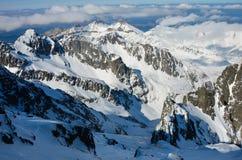 Berg van Sneeuw Royalty-vrije Stock Foto