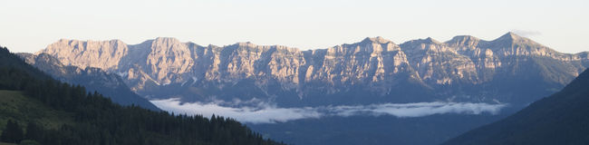 Berg van Trentino Royalty-vrije Stock Afbeeldingen