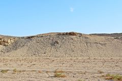 Berg van zand Royalty-vrije Stock Afbeeldingen