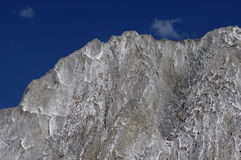 Berg van zout, Praid Stock Foto