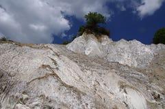 Berg van zout, Praid Stock Afbeelding
