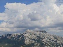 Berg Velebit stock afbeeldingen