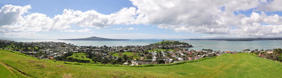 Berg-Victoria-Blick heraus, NZ Stockfoto