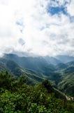 Berg in Vietnam Stock Afbeelding