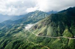 Berg in Vietnam Royalty-vrije Stock Foto