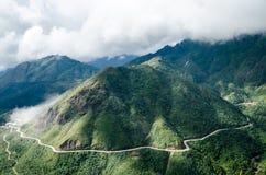 Berg in Vietnam Royalty-vrije Stock Fotografie