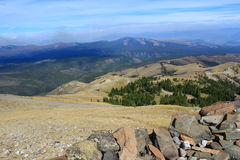 Berg Vista Lizenzfreies Stockbild