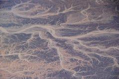Berg vom Flugzeug Lizenzfreies Stockfoto