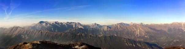 Berg von carnia friuli Stockfotografie