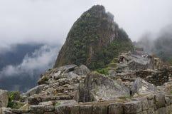 Berg von Machu Picchu in Peru Lizenzfreie Stockfotografie