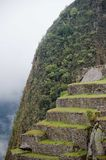 Berg von Machu Picchu in Peru Lizenzfreie Stockfotos