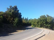Berg von Orotaba stockfotos