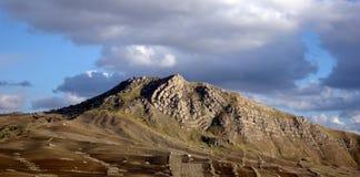 Berg von Sizilien Stockfotos