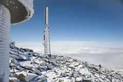 Berg Washington Observatory Stockfotografie
