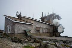 Berg Washington Weather Station Stockbilder
