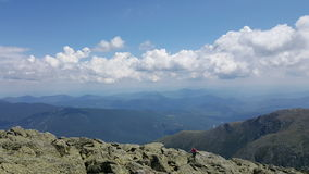 Berg-Washington-Wolken Lizenzfreies Stockbild