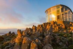 Berg Wellington Tasmania Australia lizenzfreies stockfoto