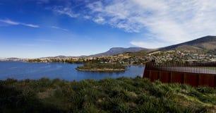 Berg Wellington von der Mona Lizenzfreies Stockfoto