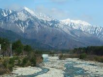 berg wouderful Japan arkivfoto