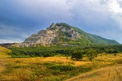 Berg Zmeyka nahe Mineralnyje Wody Stadt, Kaukasus, Russland stockbild