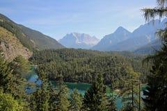 Berg Zugspitze Stockfoto