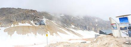 Berg Zugspitze Royalty-vrije Stock Afbeeldingen