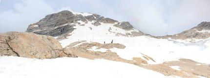 Berg Zugspitze Royalty-vrije Stock Afbeelding