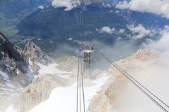 Berg Zugspitze Stock Afbeelding