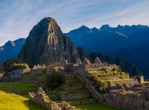 Berg in Zuid-Amerika stock afbeeldingen
