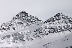 Berg zwei Stockfoto