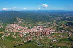 Berga area, Catalonia, Spain Royalty Free Stock Photos