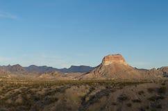 Bergachtig gebied in de heuvel van Texas Royalty-vrije Stock Fotografie