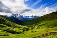 Bergachtig landschap Stock Foto's