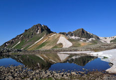 Bergachtig landschap Royalty-vrije Stock Afbeeldingen
