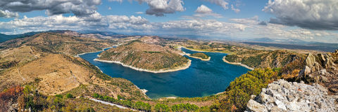 Bergama dam Royalty Free Stock Photos