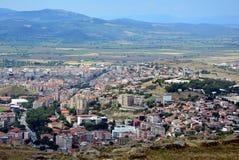 Bergama, opinião da cidade de Izmir, Turquia imagens de stock royalty free