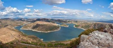 bergamafördämning Fotografering för Bildbyråer