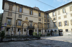 BERGAME, ITAL Photo stock
