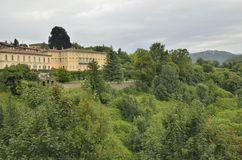 Bergamo Royaltyfri Fotografi
