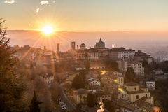 Bergamo Lizenzfreies Stockfoto