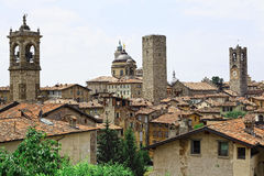 Bergamo alta Royalty Free Stock Photos