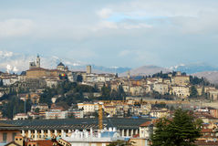 Bergamo Alta Royalty Free Stock Photography